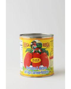 Rega DOP San Marzano Whole Peeled Tomatoes