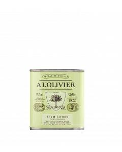 A L'Olivier Lemon & Thyme Infused Extra Virgin Olive Oil