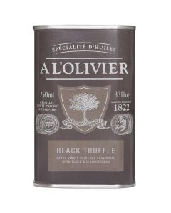 A L'Olivier Black Truffle from Périgord Infused Extra Virgin Olive Oil