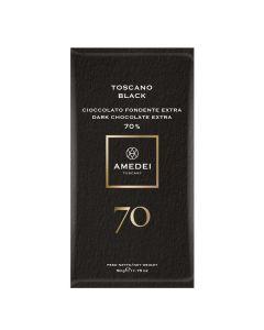 Amedei Toscano Black 70% Dark Chocolate