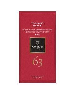 Amedei Toscano Black 63% Dark Chocolate