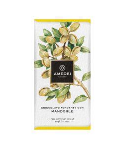 Amedei Frutti Dark Chocolate with Almonds
