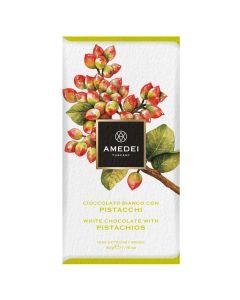 Amedei Frutti White Chocolate with Pistachios