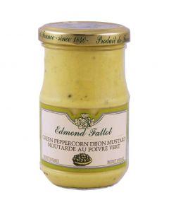 Edmond Fallot Green Peppercorn Dijon Mustard