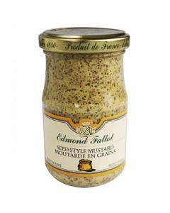 Edmond Fallot Old Fashioned Seed-Style Dijon Mustard