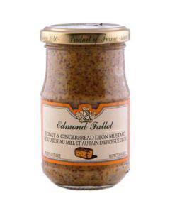 Edmond Fallot Honey & Gingerbread Whole Grain Dijon Mustard