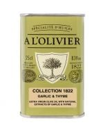 A L'Olivier Garlic & Thyme Infused Extra Virgin Olive Oil
