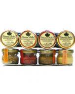 Edmond Fallot Dijon Mustard 4 Mini Gift Pack