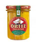 """Conservas Ortiz """"Bonito del Norte"""" White Tuna in Organic Olive Oil"""